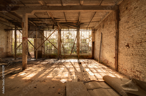Photo Stands Old abandoned buildings Old Abandoned Factory
