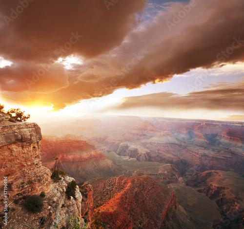 In de dag Canyon Grand Canyon
