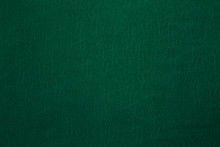 Green Leather Surface
