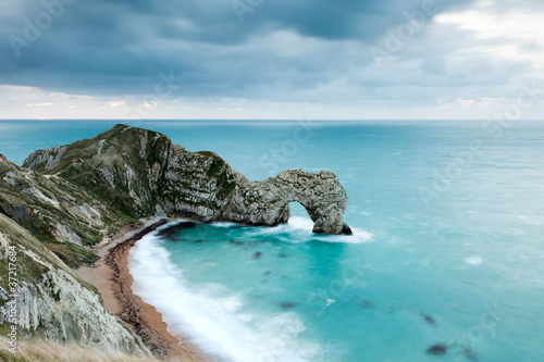 Durdle Door At Dawn Poster