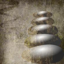 Zen Steine Hintergrund