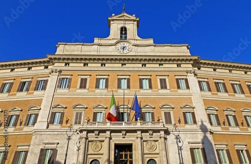 Fotografía  Palazzo Montecitorio, Roma