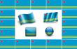 Leinwanddruck Bild Flag of Aruba