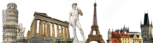 Valokuva  european travel background