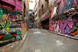 Fototapeta Młodzieżowe - Graffiti Alley
