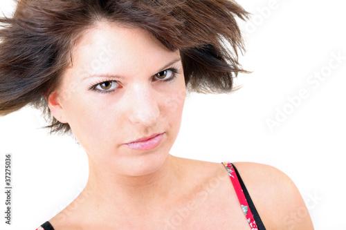 Fotografía  attraktiv und ernst