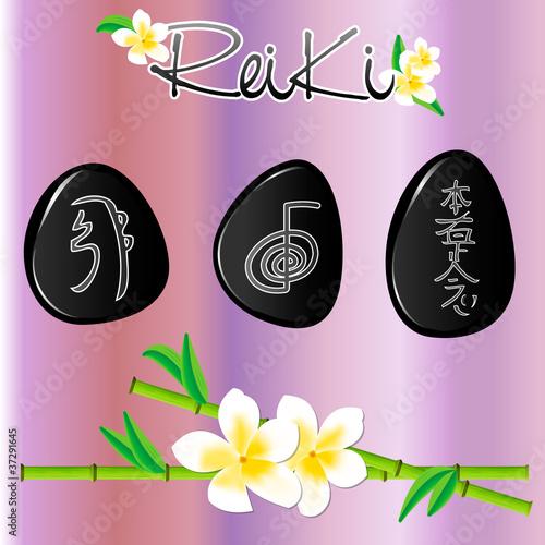 Photo  Reiki Stones