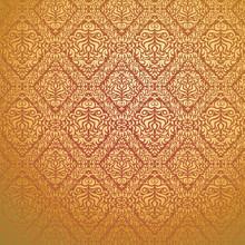 Seamless Wallpaper, Vector Ill...