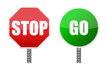 Stop Go Sign Illustrations Ove...