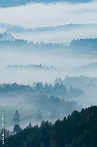 Aluminium Prints European Countryside