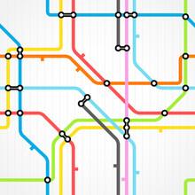 Seamless Background Of Metro S...