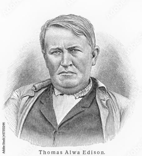 Thomas Edison Canvas Print