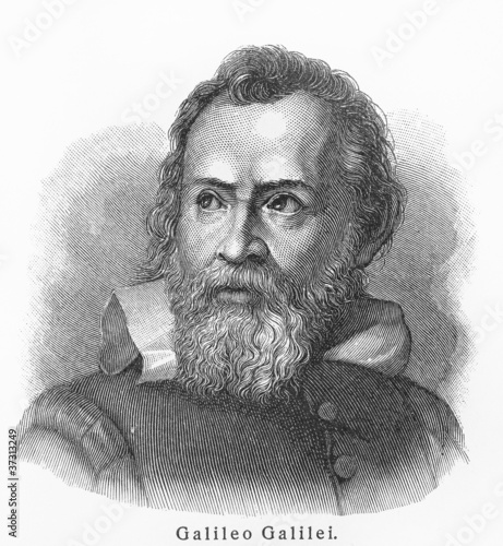 Galileo Galilei Wallpaper Mural