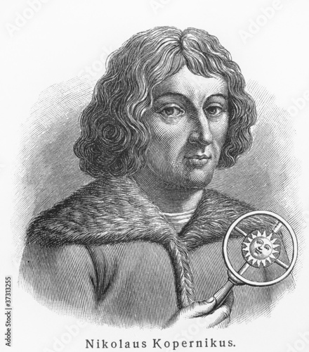 Canvas Print Nicolaus Copernicus