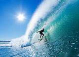 Surfer na Blue Ocean Wave - 37320867