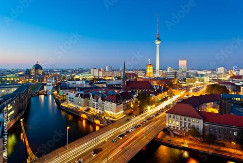 Staande foto Berlijn Berlin View on Alexanderplatz