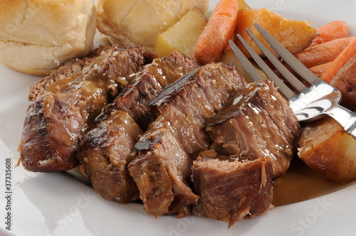 Fotografie, Obraz  Beef pot roast
