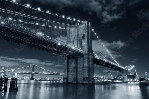 Foto op Canvas Brooklyn Bridge bridge