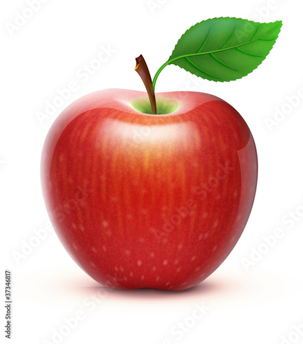 Valokuva  red apple