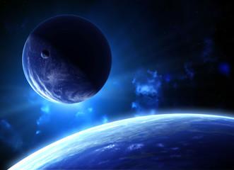 Fototapeta spokojny kosmos