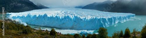 Foto Panoramic view of Perito Moreno Glacer, Patagonia, Argentina.