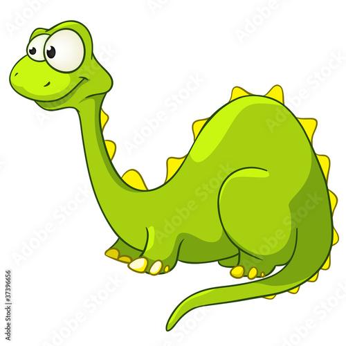 Wall Murals Dinosaurs Cartoon Character Dino