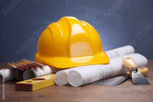 Fototapeta Plans of your home! obraz na płótnie