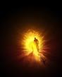 Der Tunnel zum Licht - Gold Gelb
