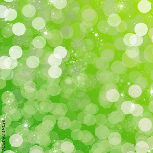 ambiance festive - fond vert Canvas-taulu