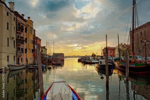 Valokuvatapetti Alba a Chioggia - Venezia