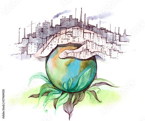 ecology Tablou Canvas