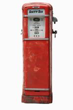 Vintage Pump On White