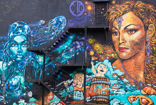 Wall Mural in Manchester