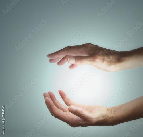 Photo  Energy manifestation