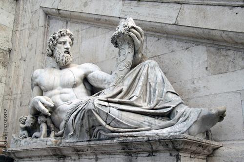 Obrazy Michał Anioł Buonarotti  statua-tevere