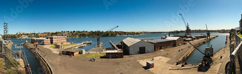 Fotografia Construction port