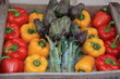 marché fruits légumes market markt primeur paysan