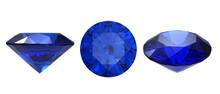 Set Of Blue Sapphire Gemstone ...