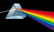 canvas print picture - Spektralfarben Prisma