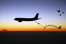 Santa Being Refueled