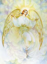 "Watercolor ""Angel"""