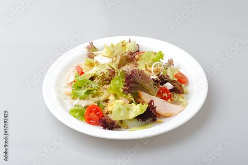 Recess Fitting Appetizer Chiken fresh salad