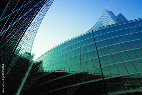 Foto op Plexiglas Milan Office Building