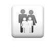 Boton cuadrado blanco simbolo familia