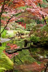FototapetaJapanese garden Monet-style