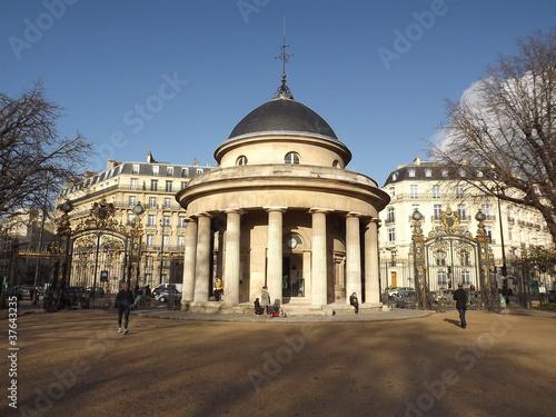Photo  Paris parc Monceau