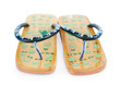 Two Chinese massage summer sandals