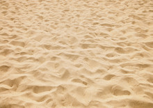 Texture Of Yellow Sand On The ...