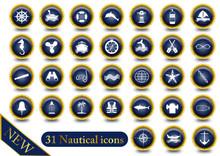 Set 31 Nautical Icons