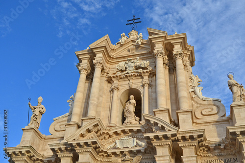Fotografie, Obraz  Cathedral of Ortigia, Syracuse